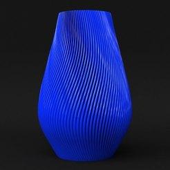 Download 3D printer files [Vase Mode but Not Flimsy] GillBert Vase, sidnaique