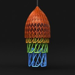 Borneo03.jpg Download STL file Borneo Lamp [mmu/palette] • 3D printable design, sidnaique