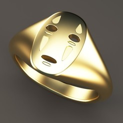 Download 3D printing files No Face Ring, Bonafai