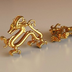 3D print model Dragon Pendant, Bonafai