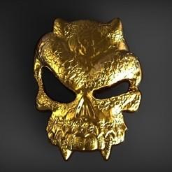 Diseños 3D Colgante Triturador de cráneo, Bonafai