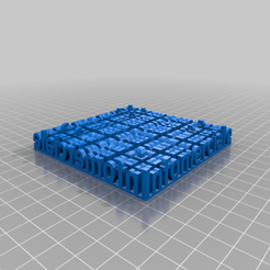 Download free 3D printing templates My Customized Stereo Text, gdjeff