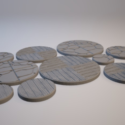 Free 3D print files Z.O.D. Dungeon Theme Bases (28mm/Heroic scale), Dutchmogul