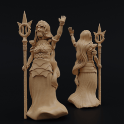 LjosalfQueen2.png Download free STL file Ljosalf Queen • 3D printing object, Dutchmogul