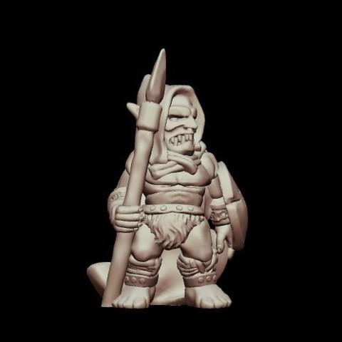 e30df38ede56bb8ea96dd1316dc573d9_preview_featured.jpg Download free STL file Kyn Finvara Goblin Warrior (Heroic scale) • 3D print design, Dutchmogul