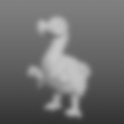 Download free OBJ file Sculptris Dummy: Dodoid • 3D print template, Dutchmogul