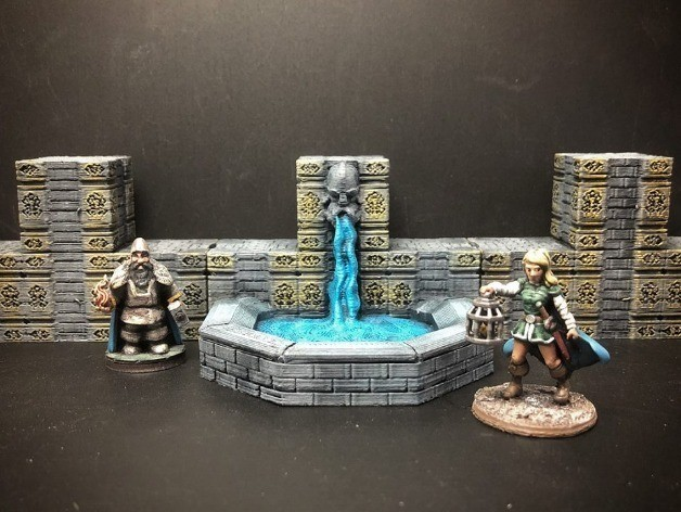 f0b6e76d19719198a19462723a4864cc_preview_featured.jpg Download free STL file ScatterBlocks: Dwarven Fountain (28mm/Heroic scale) • 3D print object, Dutchmogul
