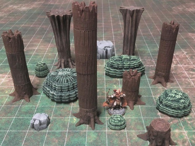 674bbd65f0f0f54aab5d3b947e6c0226_preview_featured.jpg Download free STL file ScatterBlocks: Tree (28mm/Heroic scale) • 3D print model, Dutchmogul