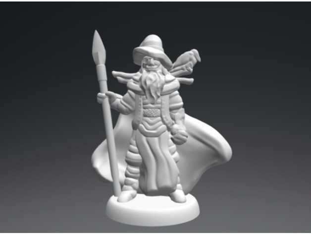 d016f8f91a402cbd9f745dc74c35c7bf_preview_featured.jpg Download free STL file Wotan the Wanderer (18mm scale) • 3D printable object, Dutchmogul
