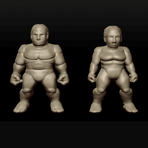 Free STL files Sculptris Dummies: Dwarves, Dutchmogul