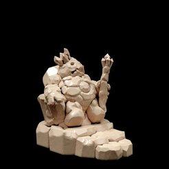 Free 3D print files Dirt King (immobile variant, 28mm/32mm scale), Dutchmogul