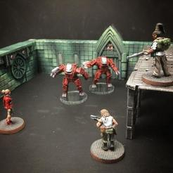 Free stl files A-TACC Combat Robots (28mm/32mm scale), Dutchmogul