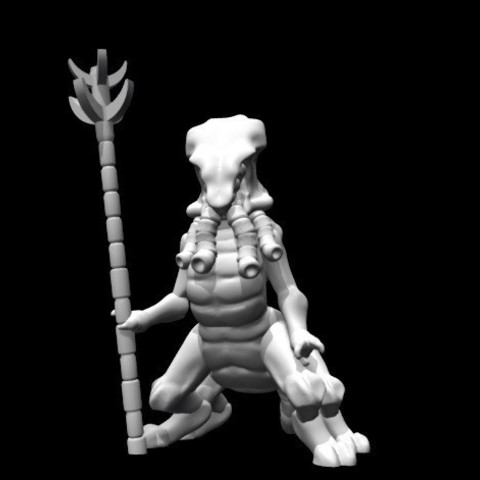 Free 3d model Mystic Alien (28mm/Heroic scale), Dutchmogul