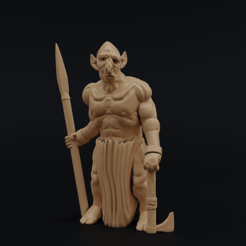 TrollspawnGuard.png Download free STL file Trollspawn Guard • Design to 3D print, Dutchmogul