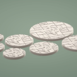 Capture d'écran 2018-07-12 à 10.26.51.png Download free STL file Starcross Stonework Miniature Bases • 3D printable design, Dutchmogul