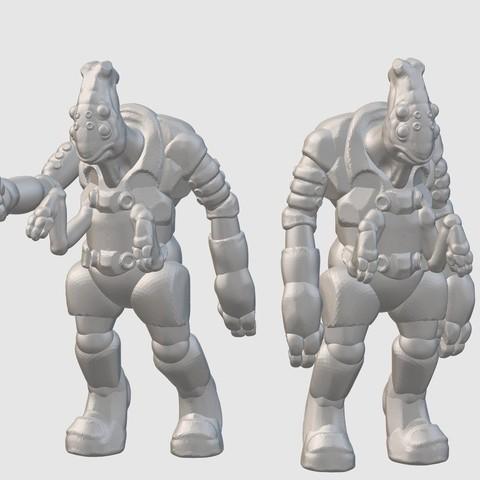 Download free 3D printing designs Thantoan Researchers (28mm/32mm scale), Dutchmogul