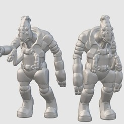 Download free 3D printing designs Thantoan Researchers (28mm/32mm scale), Dutchmogul