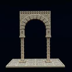 Download free 3D printing files Necropolis Arch, Dutchmogul