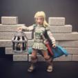 Download free STL file  Wenda, Novice Adventurer (28mm/Heroic scale) • 3D printer model, Dutchmogul