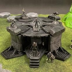 Imprimir en 3D gratis Spoolstruct: Entrada al Complejo Subterráneo, Dutchmogul