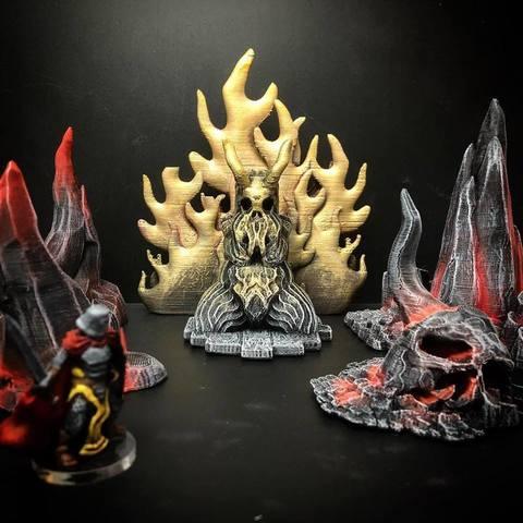 Free 3D model Demonic Idol (any scale), Dutchmogul
