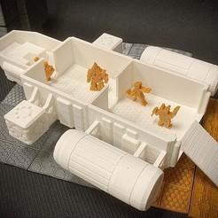 Scow2.jpg Download free STL file Meepleverse: Cargo Scow • 3D print object, Dutchmogul