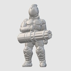Download free 3D model Freespace Merc (28mm/32mm scale), Dutchmogul
