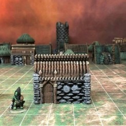 archivos 3d Kyn Finvara: Cabaña de duendes (Escala heroica) gratis, Dutchmogul
