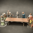 Download free 3D printing templates Longtable, Dutchmogul