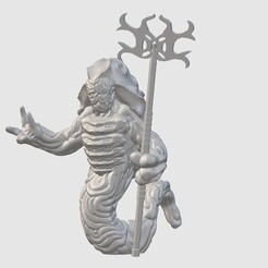 Download free 3D print files Narleth Priest (28mm/32mm scale), Dutchmogul