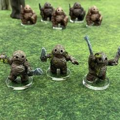 Free 3D printer model Clod Soldiers with modular hand Weapons (28mm/32mm scale), Dutchmogul