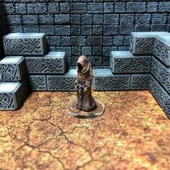 Free STL files Townsfolke: Prisoner (28mm/32mm scale), Dutchmogul