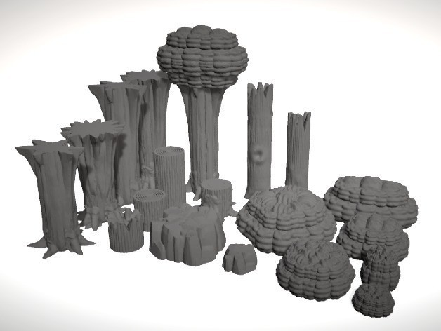 182519885112a9d03d165d0cd290897c_preview_featured.jpg Download free STL file ScatterBlocks: Tree (28mm/Heroic scale) • 3D print model, Dutchmogul