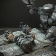Download free STL file Netherforge Tunnel Caber (28mm/Heroic scale) • Template to 3D print, Dutchmogul
