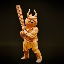 Download free 3D print files Pumpkin Oni (32mm scale), Dutchmogul