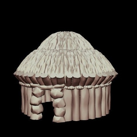 4c7eef2acb8f3353cf1976df9537fab9_preview_featured.jpg Download free STL file Kyn Finvara Goblin Hut (Heroic scale) • 3D printable design, Dutchmogul