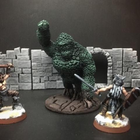 Descargar Modelos 3D para imprimir gratis Golem Topiary (28 mm / escala heroica), Dutchmogul