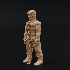 Pris.png Download free STL file Prisoner • 3D print template, Dutchmogul