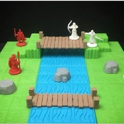 Descargar archivos 3D gratis Modular Grassland Tactics Tiles (18mm scale), Dutchmogul