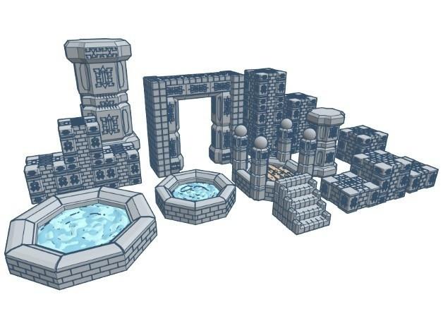 66297d1c9917a3835ad37de2cd2347ae_preview_featured.jpg Download free STL file ScatterBlocks: Dwarven Statue (Heroic Scale) • 3D printer design, Dutchmogul