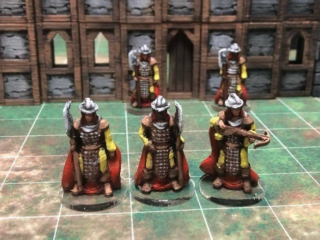 59f2b5bacd23e8d3984d930904fcf68d_preview_featured.jpg Download free STL file Townsfolke: Town Guard variants (28mm/Heroic scale) • 3D print object, Dutchmogul