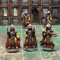 Free 3D printer designs Townsfolke: Town Guard variants (28mm/Heroic scale), Dutchmogul