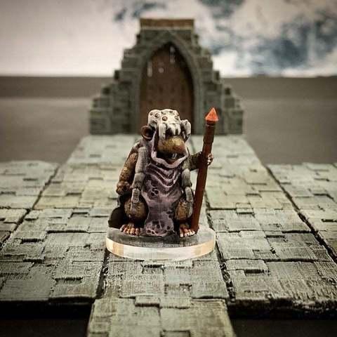 Download free 3D model Ratfolk Druid Mother (32mm scale), Dutchmogul