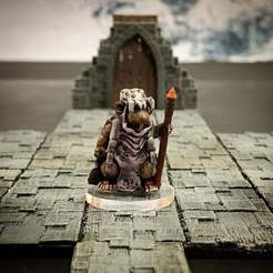 Free 3D printer model Ratfolk Druid Mother (32mm scale), Dutchmogul