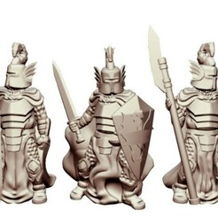 Download free STL file Dragon Knights (28mm/Heroic scale), Dutchmogul