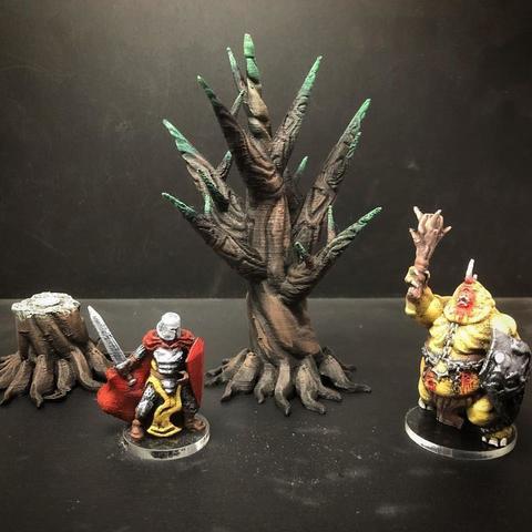 Imprimir en 3D gratis Dagger Trees (cualquier escala), Dutchmogul