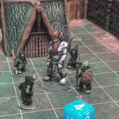 Free Firbolg Prisoner (Heroic scale) 3D printer file, Dutchmogul