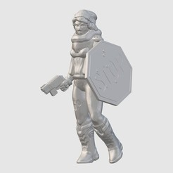 Free 3D printer model Apocalypster (28mm/32mm scale), Dutchmogul