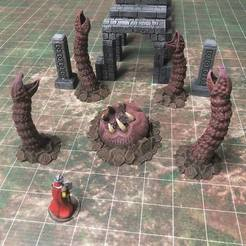 Free STL Monster Mondays #9: Ambush Maw (28mm/32mm scale), Dutchmogul