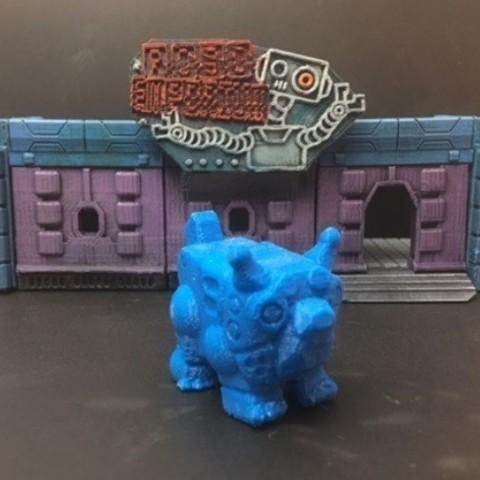 Download free STL file Robot TofuDog • 3D printer design, Dutchmogul